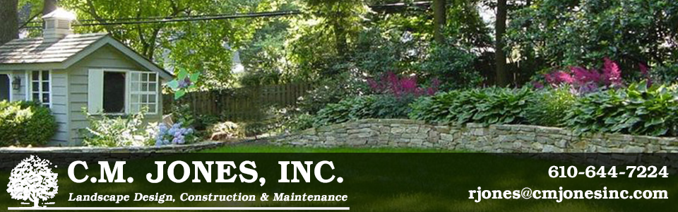 CM Jones Inc. comprehensive landscsape construction